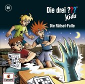 Die drei ??? Kids - Die Rätsel-Falle, 1 Audio-CD Cover