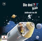 Die drei ??? Kids - Aufbruch ins All, 1 Audio-CD Cover