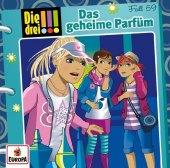 Die drei !!! - Das geheime Parfüm, 1 Audio-CD Cover