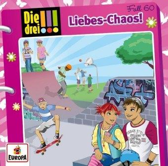 Die drei !!! - Liebes-Chaos, 1 Audio-CD