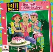 Die drei !!! 61: Der Fall Dornröschen, 1 Audio-CD Cover