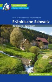 Fränkische Schweiz Reiseführer Michael Müller Verlag, m. 1 Karte Cover