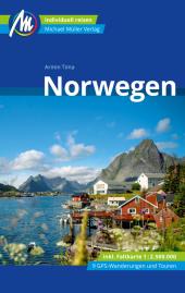 Norwegen Reiseführer Michael Müller Verlag, m. 1 Karte Cover