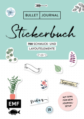 Bullet Journal - Stickerbuch Cover