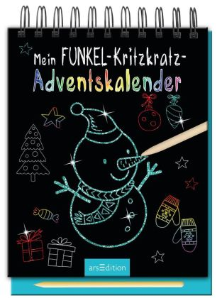 Mein Funkel-Kritzkratz-Adventskalender