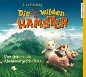 Die wilden Hamster - Vier spannende Abenteuergeschichten, 8 Audio-CDs