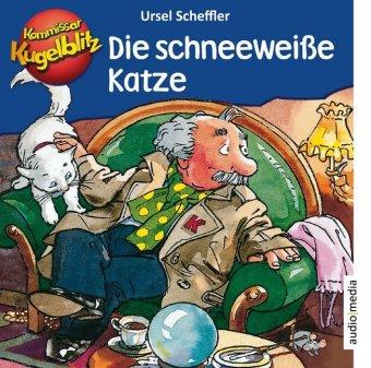 Kommissar Kugelblitz - Die schneeweiße Katze, 1 Audio-CD