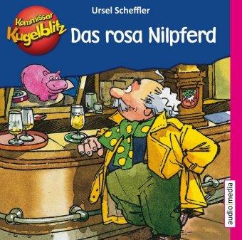Kommissar Kugelblitz - Das rosa Nilpferd, 1 Audio-CD