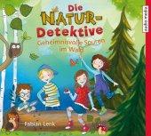Die Natur-Detektive - Geheimnisvolle Spuren im Wald, 1 Audio-CD Cover