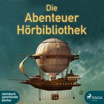 Die Abenteuer Hörbibliothek, 4 MP3-CDs