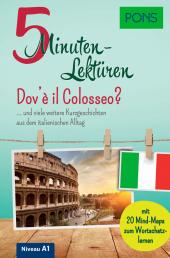 PONS 5-Minuten-Lektüren Italienisch A1 - Dov'è il Colosseo? Cover