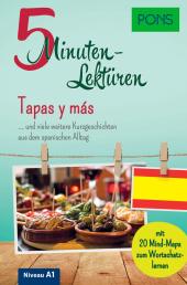 PONS 5-Minuten-Lektüren Spanisch A1 - Tapas y más Cover