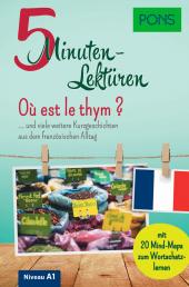 PONS 5-Minuten-Lektüren Französisch A1 - Où est le thym ? Cover