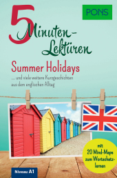 PONS 5-Minuten-Lektüren Englisch A1 - Summer Holidays Cover