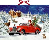 Wandkalender - Winterfahrt im Oldtimer