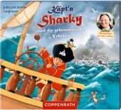 Käpt'n Sharky und die geheimnisvolle Nebelinsel, 1 Audio-CD Cover