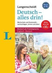 Langenscheidt Deutsch - alles drin! - Basiswissen Deutsch in einem Band Cover