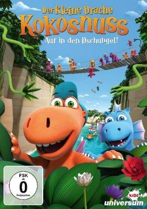 Der kleine Drache Kokosnuss - Auf in den Dschungel!, 1 DVD