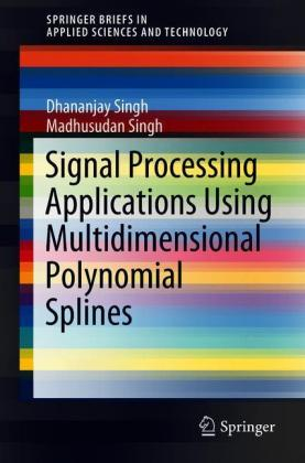 Signal Processing Applications Using Multidimensional Polynomial Splines