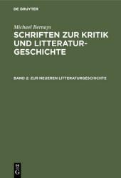 Zur neueren Litteraturgeschichte