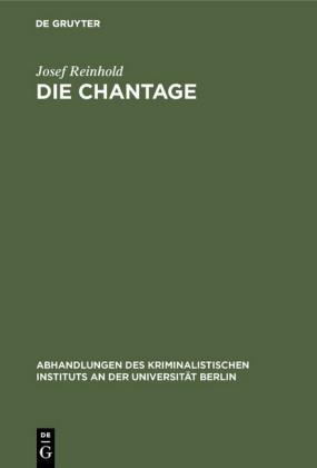 Die Chantage