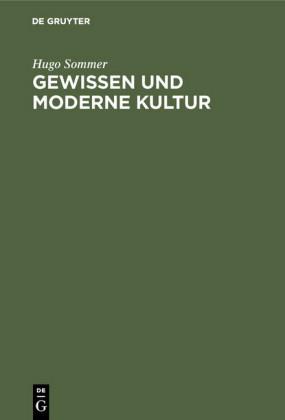 Gewissen und moderne Kultur