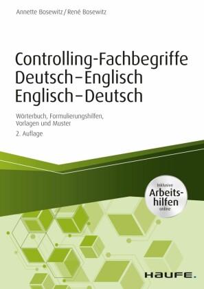 Controlling-Fachbegriffe Deutsch-Englisch, Englisch-Deutsch - inkl. Arbeitshilfen online