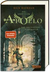 Die Abenteuer des Apollo - Das brennende Labyrinth Cover