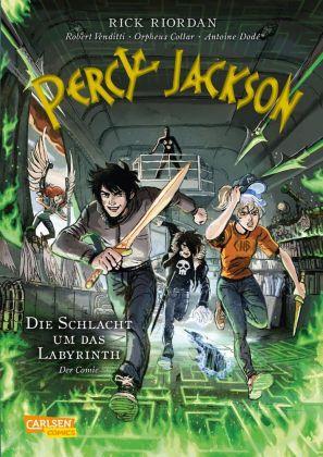 Percy Jackson (Der Comic) - Die Schlacht um das Labyrinth