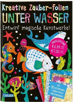 Kreative Zauber-Folien - Unter Wasser: Set