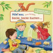 Hör mal - Verse für Kleine: Backe, backe Kuchen ..., m. Soundeffekten Cover