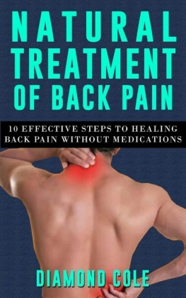 Natural Treatment of Back Pain