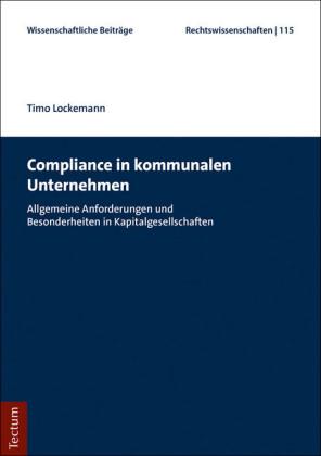 Compliance in kommunalen Unternehmen