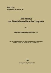 Ein Beitrag zur Desmidiaceenflora des Lungaues