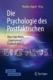 Die Psychologie des Postfaktischen Cover