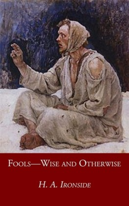 Fools-Wise and Otherwise