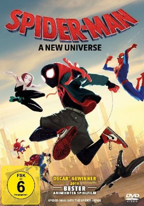 Spider-Man: A new Universe, 1 DVD