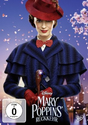 Mary Poppins Returns, 1 DVD