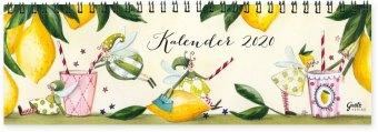 Tischkalender 2020 (Zitronen)