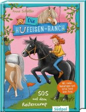 Die Hufeisen-Ranch - SOS auf dem Reitercamp Cover