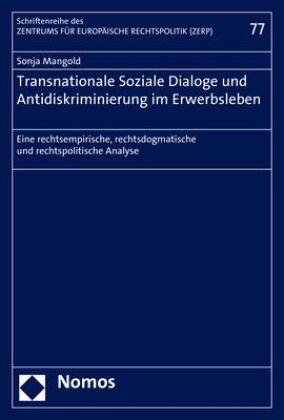 Transnationale Soziale Dialoge und Antidiskriminierung im Erwerbsleben