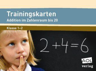 Trainingskarten: Addition im Zahlenraum bis 20