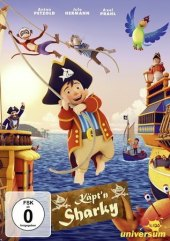 Käpt'n Sharky, 1 DVD Cover