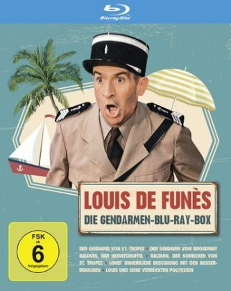 Louis de Funes - Gendarmen, 3 Blu-ray