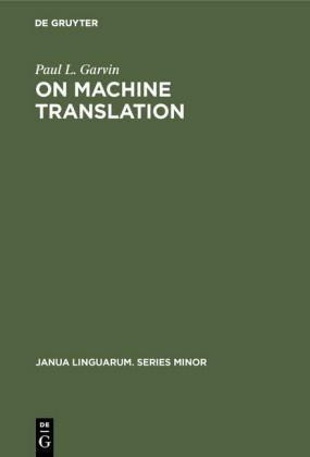 On Machine Translation