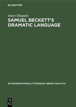 Samuel Beckett's dramatic language