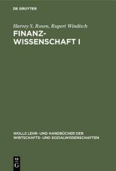 Finanzwissenschaft I