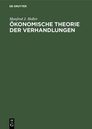 Ökonomische Theorie der Verhandlungen