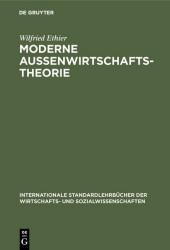Moderne Außenwirtschaftstheorie