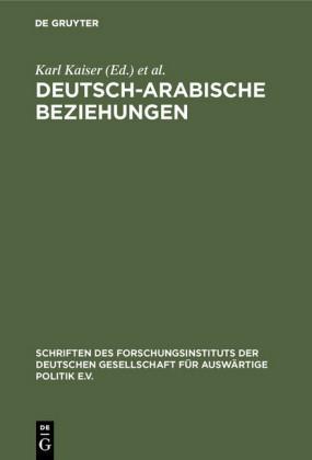 Deutsch-arabische Beziehungen